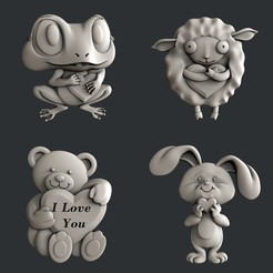 Download 3D model Love, burcel