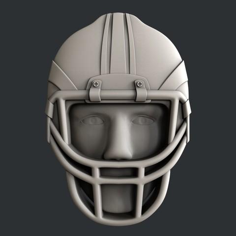 P105e.jpg Download STL file Set American Football • 3D printable model, 3dmodelsByVadim