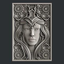 Impresiones 3D Cara, burcel