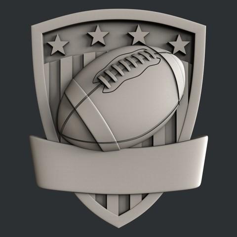 P105b.jpg Download STL file Set American Football • 3D printable model, 3dmodelsByVadim