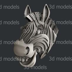 P353a.jpg Download STL file Zebra for kids • 3D printable object, 3dmodelsByVadim