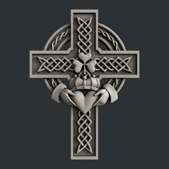 3D print files Celtic cross, burcel