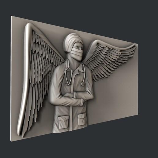 F6-1.jpg Télécharger fichier STL gratuit ange médecin • Design à imprimer en 3D, 3dmodelsByVadim