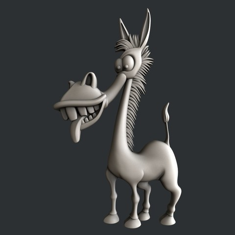 STL donkey, burcel