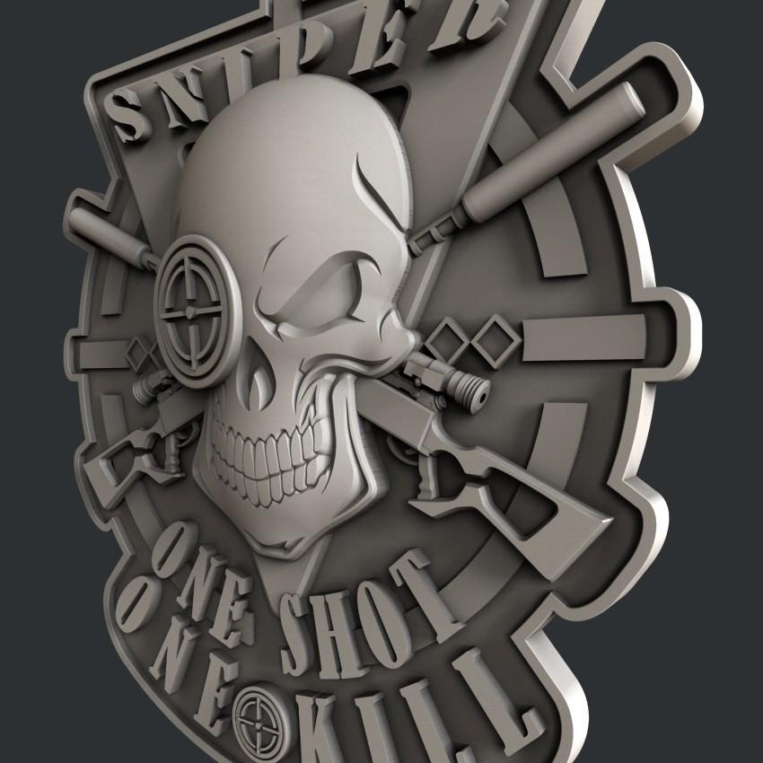 P17-1.jpg Download STL file 3d models sniper • 3D printer object, 3dmodelsByVadim
