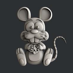 P306.jpg Télécharger fichier STL rat • Design à imprimer en 3D, 3dmodelsByVadim