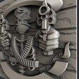 Archivos 3D Pistolas de cráneo, burcel