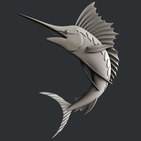 3d models Swordfish