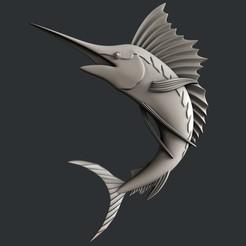 Download 3D print files 3d models Swordfish, burcel