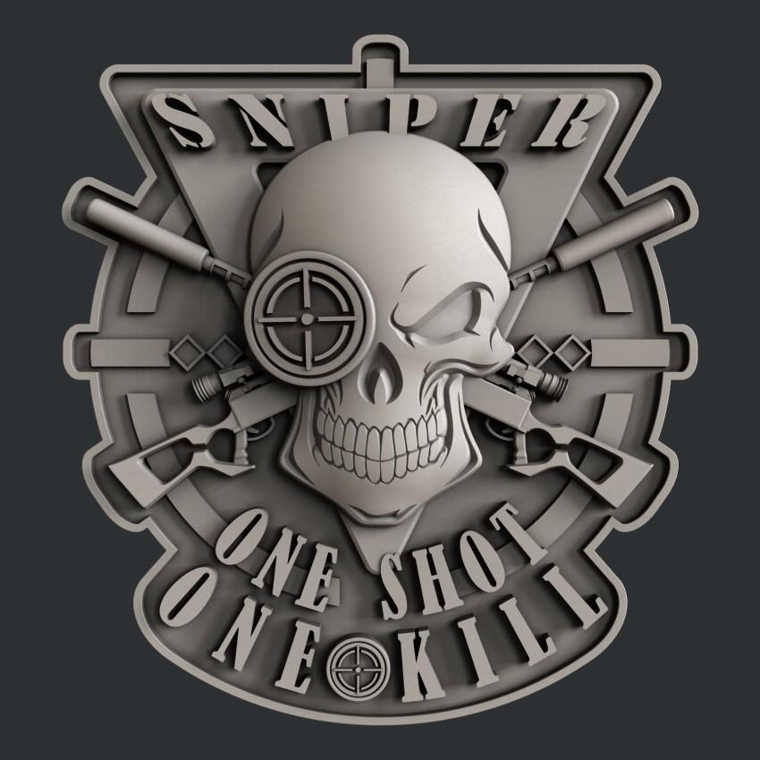 P17.jpg Download STL file 3d models sniper • 3D printer object, 3dmodelsByVadim