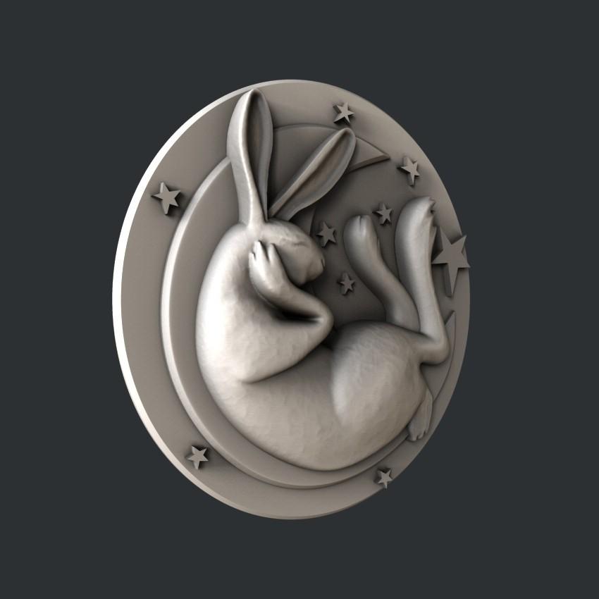 P25-0.jpg Download STL file Bunny • Model to 3D print, 3dmodelsByVadim