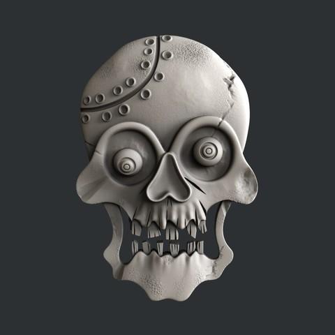 P31.jpg Download STL file skull • 3D print object, 3dmodelsByVadim