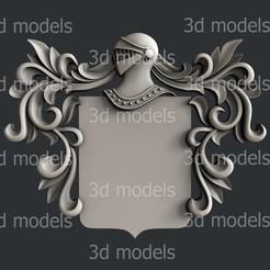 COA1a.jpg Download STL file Coat of Arms COA1 • 3D printable model, 3dmodelsByVadim