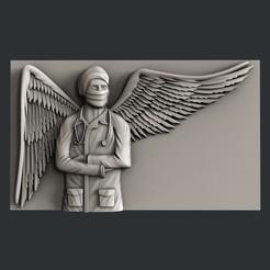 F6.jpg Download free STL file doctor angel • 3D printing model, 3dmodelsByVadim