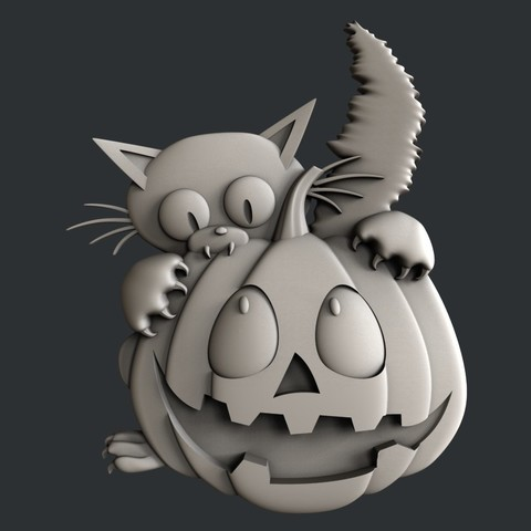 P94.jpg Download STL file 3d models Halloween • 3D printer design, 3dmodelsByVadim