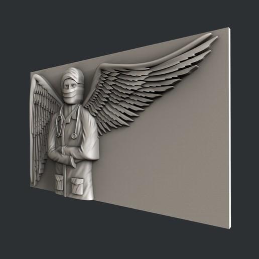 F6-2.jpg Télécharger fichier STL gratuit ange médecin • Design à imprimer en 3D, 3dmodelsByVadim