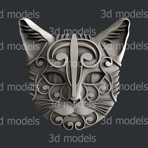Download 3D printer files cat, 3dmodelsByVadim