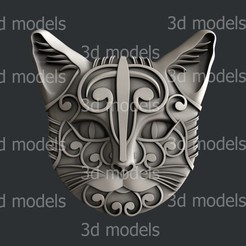 Download 3D printer files cat, 3dmodelsByVadim