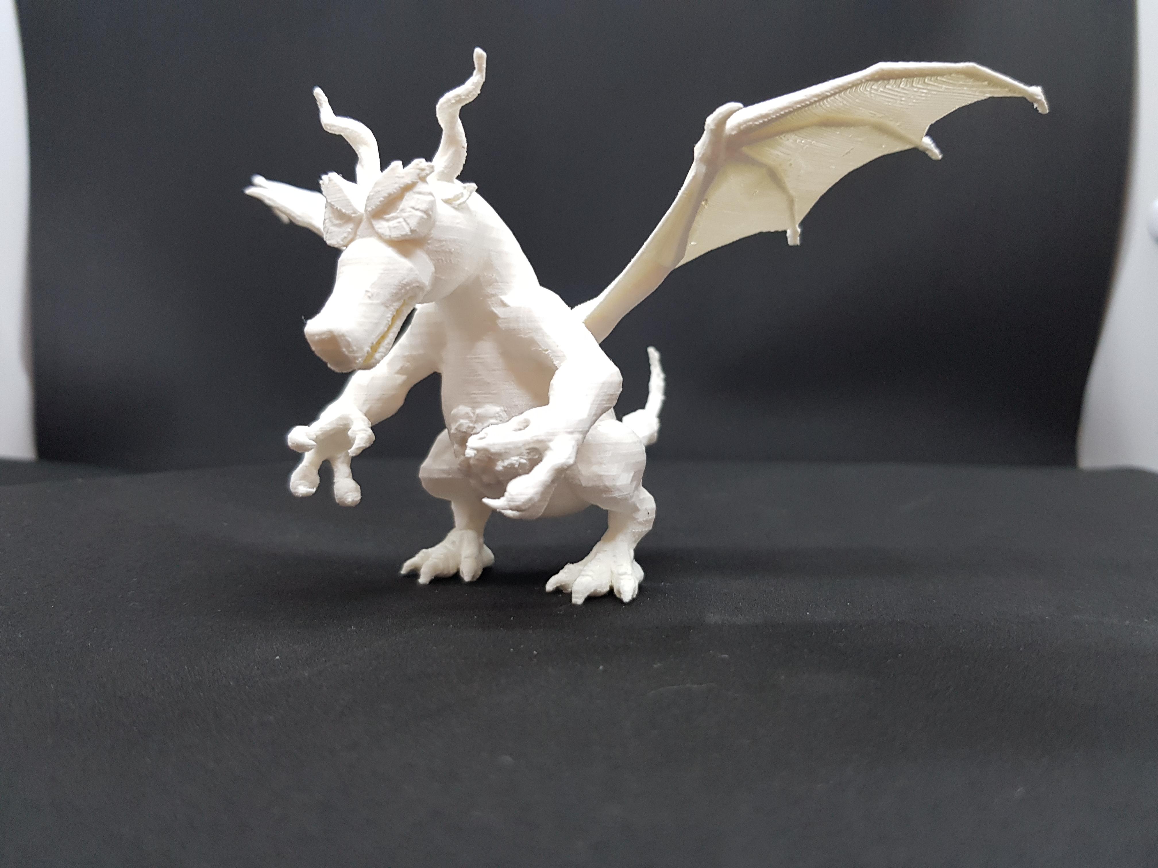 20180318_150644.jpg Télécharger fichier STL gratuit Dragonio - The Little Big Dragon • Objet pour impression 3D, StilTeg