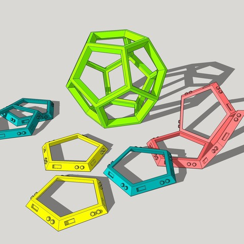 Download free 3D printer model dodecahedron, KEtienne