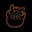 Download 3D printer designs The Lion king cookie cutter set, davidruizo