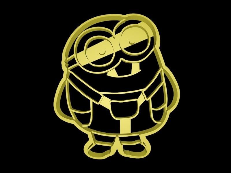 minion completo 1.jpg Download STL file Minions cookie cutter set • 3D printable object, davidruizo