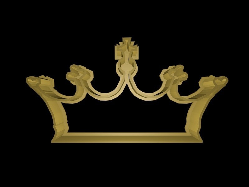 crown 3.jpg Download STL file Crown cookie cutter set • 3D printer design, davidruizo