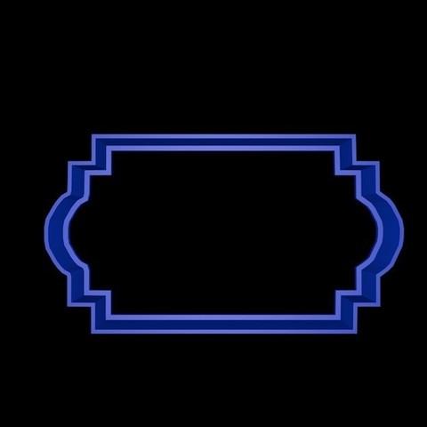 marco 5.jpg Download STL file Vintage Frame cookie cutter set • 3D printer design, davidruizo