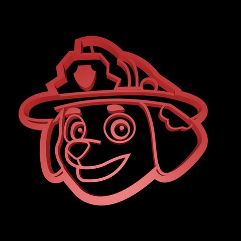 Marshall.png Télécharger fichier STL Ensemble de coupe-cuisine de la Patrouille des pattes • Modèle pour imprimante 3D, davidruizo