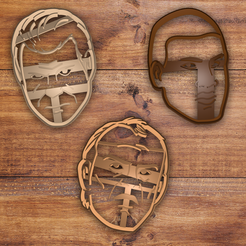 Télécharger plan imprimante 3D grand theft auto 5 (gta5) cookie cutter set, davidruizo