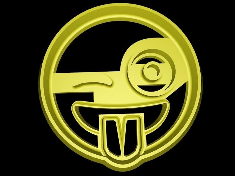 smiley emoji.jpg Download STL file Emoji cookie cutter set • 3D print design, davidruizo