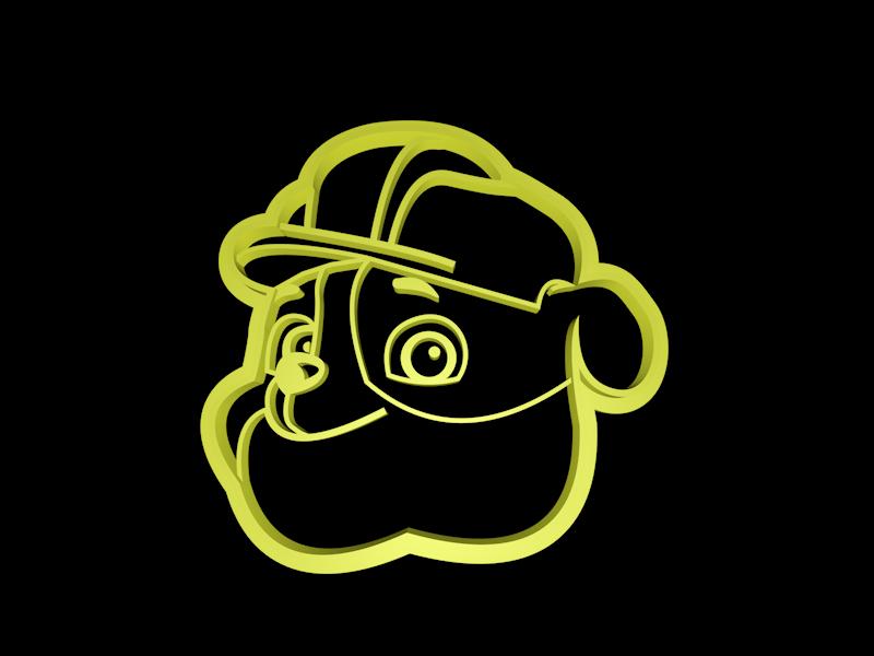Rubble.png Télécharger fichier STL Ensemble de coupe-cuisine de la Patrouille des pattes • Modèle pour imprimante 3D, davidruizo