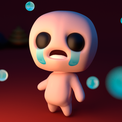 3d printer files Isaac (The binding of isaac), davidruizo