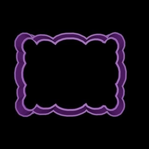 marco4.jpg Download STL file Vintage Frame cookie cutter set 2 • 3D printable design, davidruizo