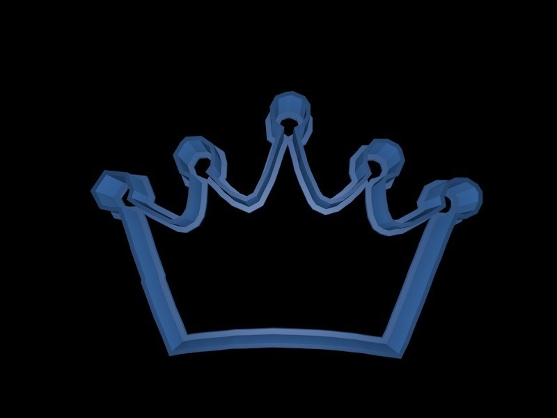 crown 2.jpg Download STL file Crown cookie cutter set • 3D printer design, davidruizo