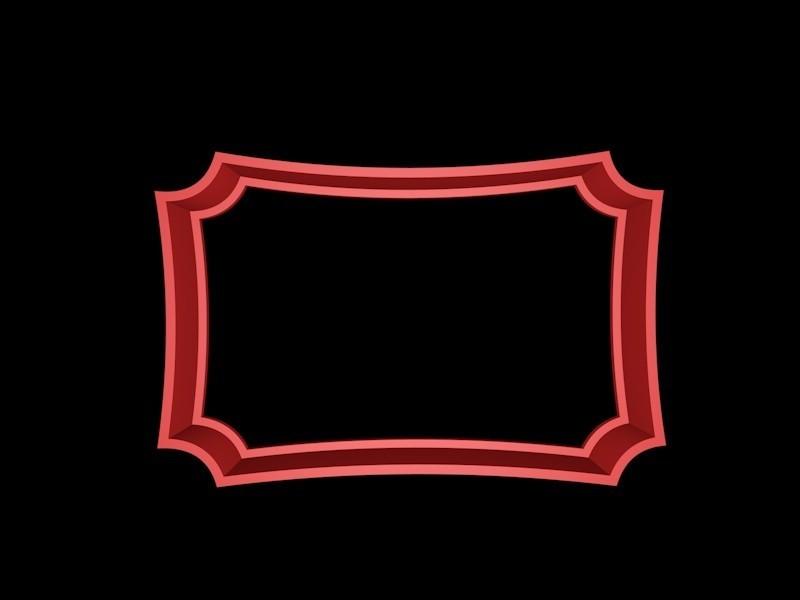 marco 1.jpg Download STL file Vintage Frame cookie cutter set • 3D printer design, davidruizo