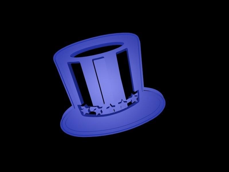 Uncle_Sams_Hat_OogiMe.jpg Download STL file Hats cookie cutter set • 3D print design, davidruizo