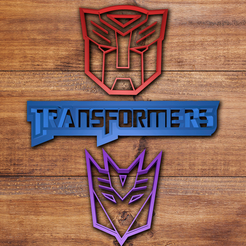 3D printing model Transformers cookie cutter set, davidruizo