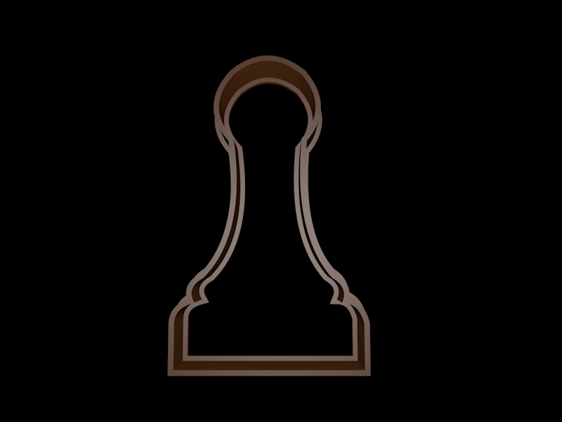 cookie.png Download STL file Chess Cookie cutter set • 3D print object, davidruizo