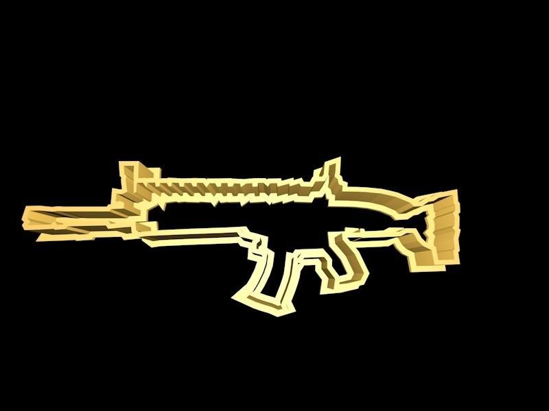 scar.jpg Download STL file Fortnite Cookie Cutter Set • 3D printing template, davidruizo