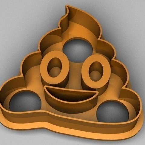 PECC3_preview_featured.jpg Download STL file Emoji cookie cutter set • 3D print design, davidruizo