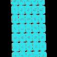 Disney minuscula.png Download STL file Disney Abecedary Stamp LowerCase Letters • 3D printer model, davidruizo