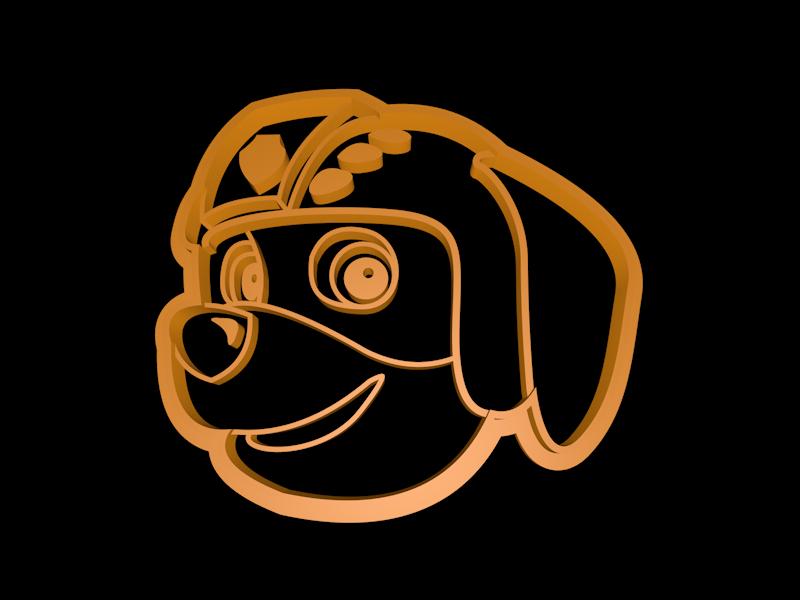 Zuma.png Télécharger fichier STL Ensemble de coupe-cuisine de la Patrouille des pattes • Modèle pour imprimante 3D, davidruizo