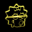 Télécharger fichier imprimante 3D L'emporte-pièce Simpson, davidruizo