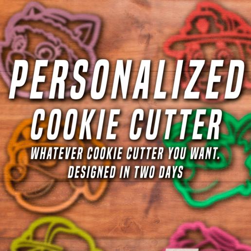 Descargar STL Cortador de galletas personalizado, davidruizo