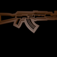 3D printer models Gun cookie cutter set, davidruizo