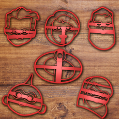 tODO.png Download STL file The Incredibles Cookie cutter set • 3D printable object, davidruizo