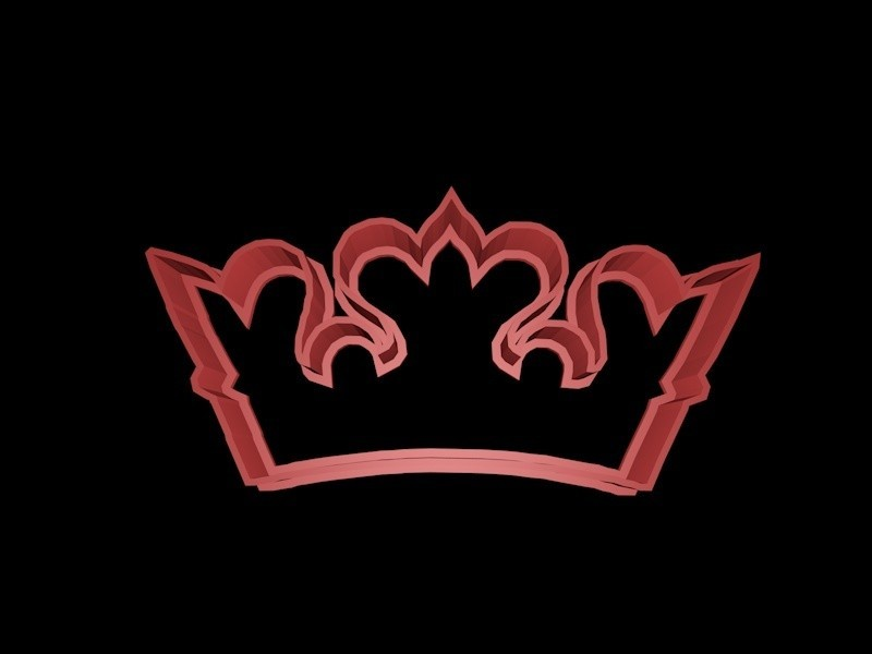 crown 1.jpg Download STL file Crown cookie cutter set • 3D printer design, davidruizo