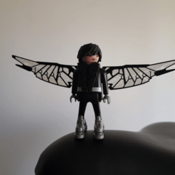 Download free 3D printing templates Playmobil Falcon, madsoul666