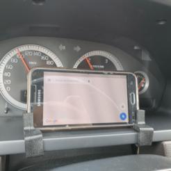 image.png Download free STL file TPU Volvo XC90 mobile phone holder • 3D printer template, madsoul666